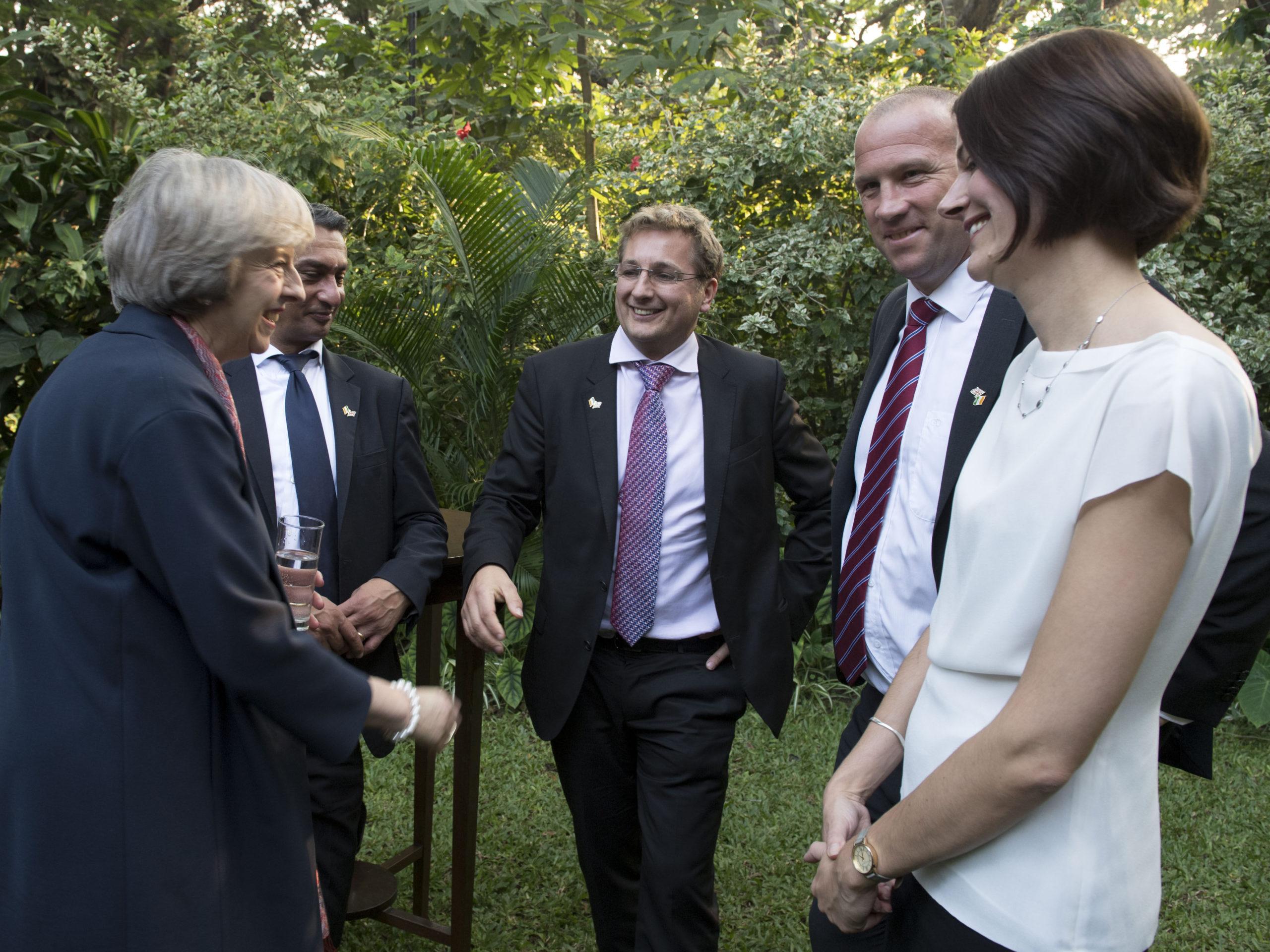 PM and Dr Nicholas Allott